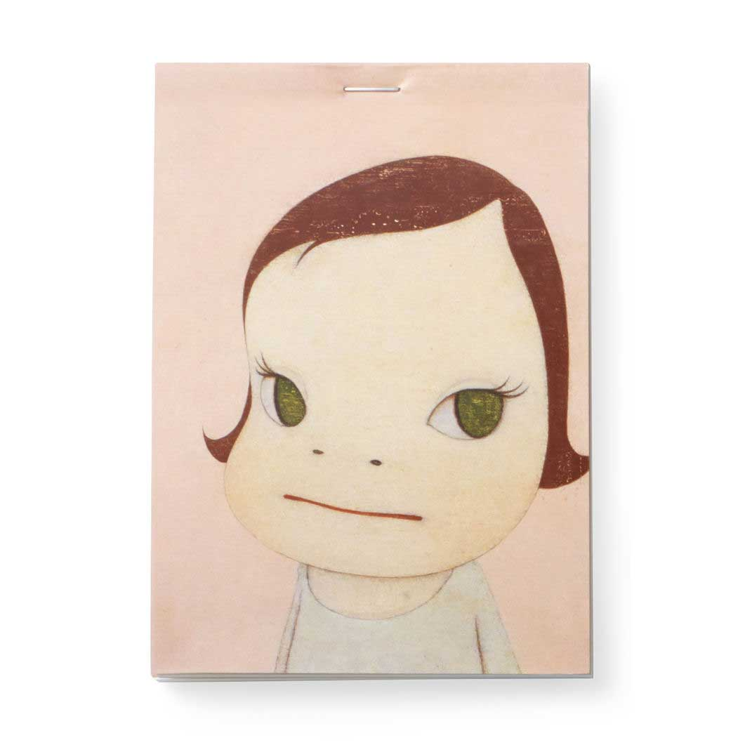 MoMA 奈良美智 ルールド メモパッドの商品画像