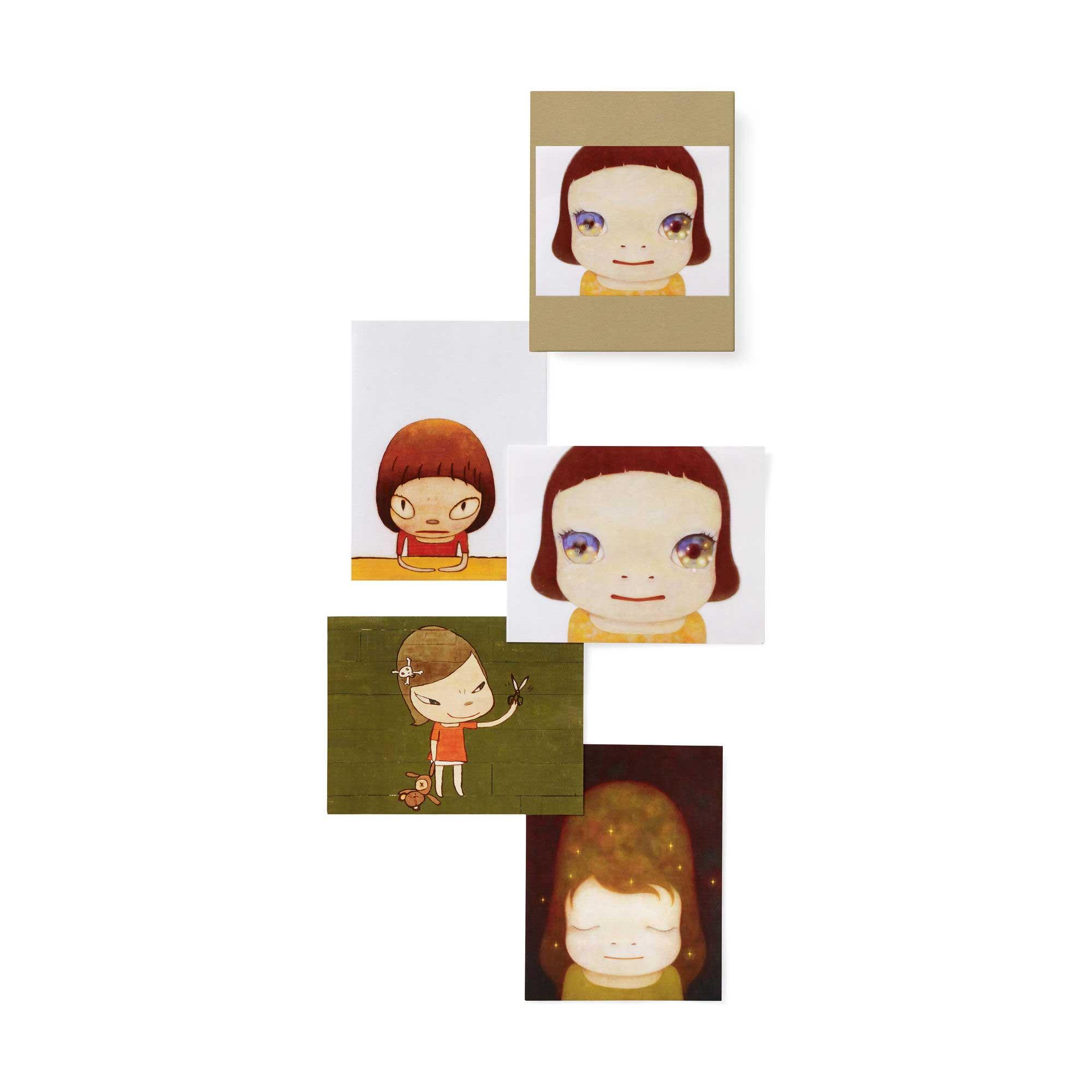 MoMA 奈良美智 ノートカードセットの商品画像