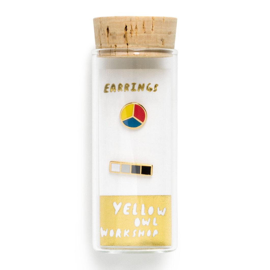 コルク瓶 ピアス カラーウィールの商品画像