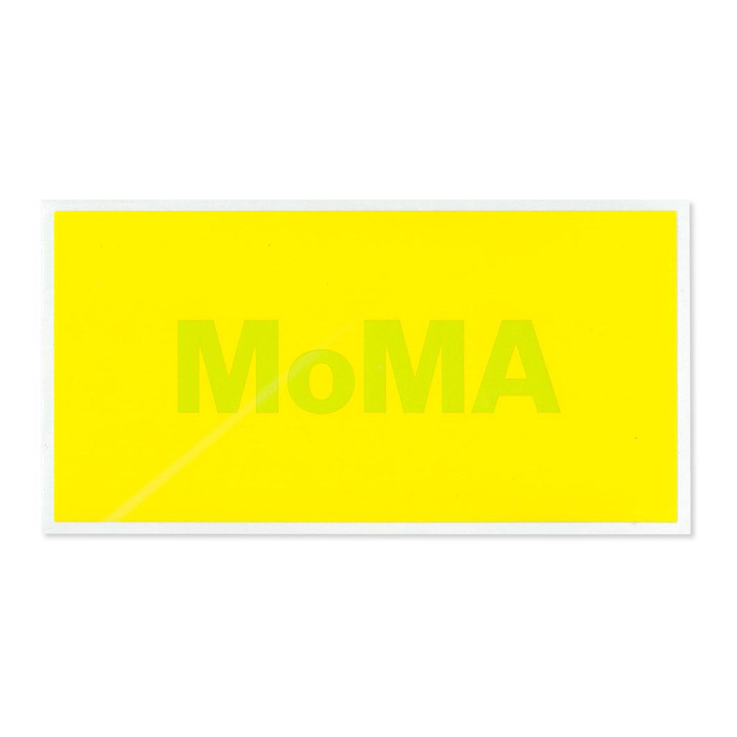 MoMA STOREMoMA デュオカラー ステッカー イエロー