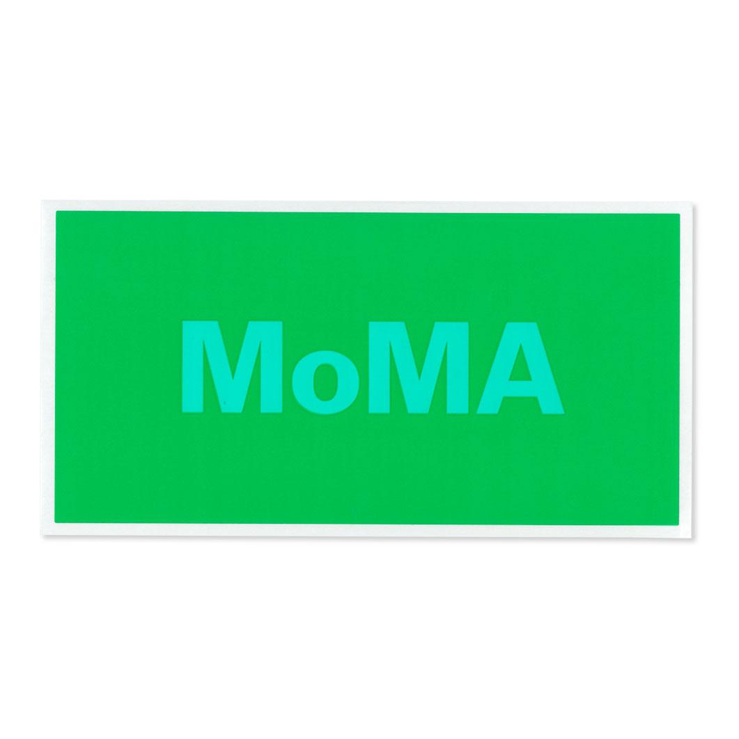 MoMA STOREMoMA デュオカラー ステッカー グリーン