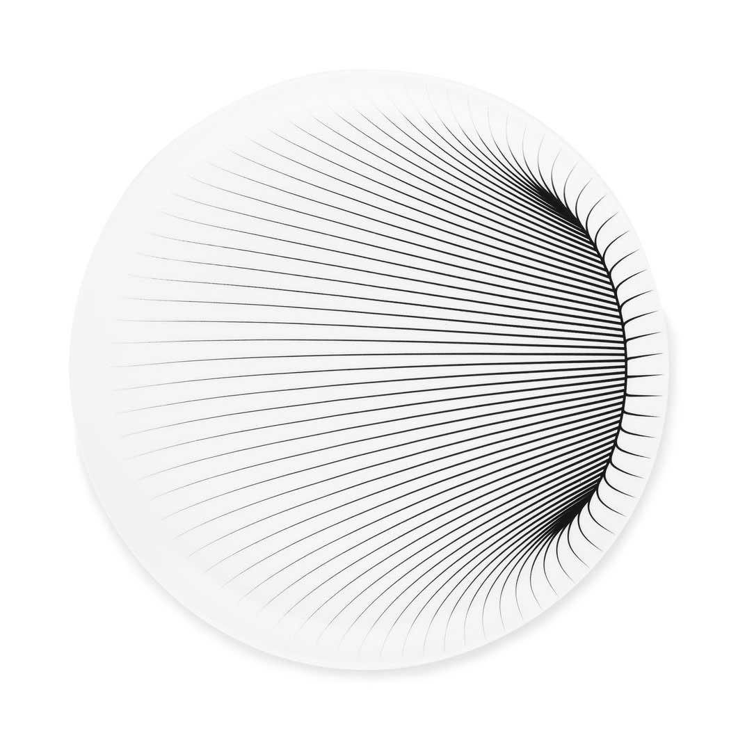 ザハ・ハディド:イリュージョン サラダプレート 4枚セットの商品画像