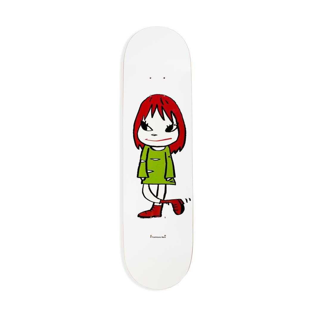 奈良美智:スケートボード Green Dress Girlの商品画像