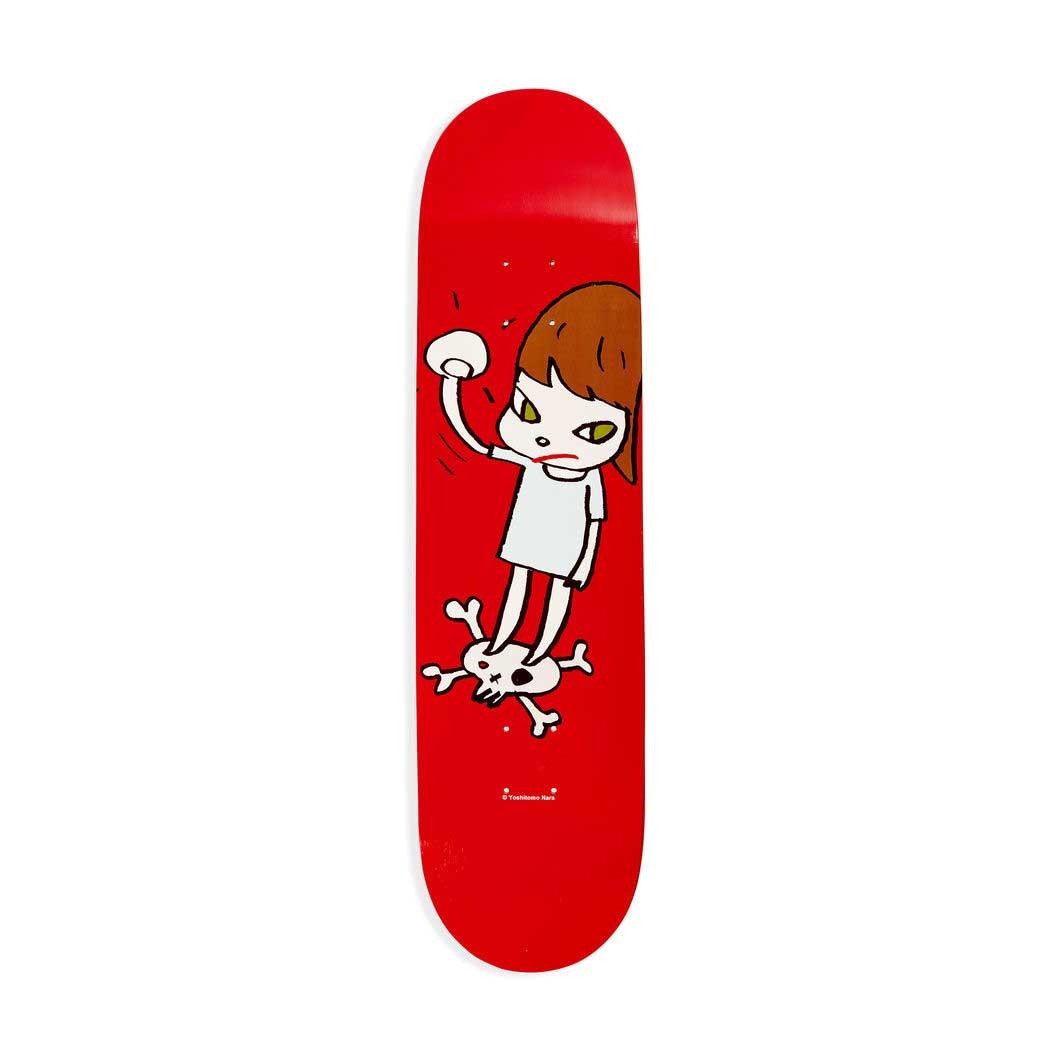 奈良美智:スケートボード Girl on top of skullの商品画像