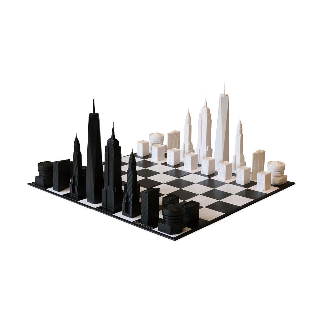 NYC スカイライン チェスセットの商品画像