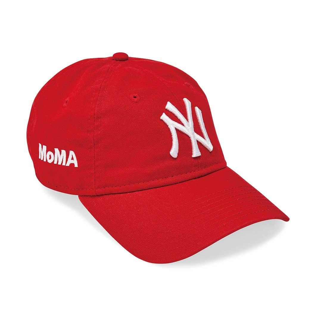NY ヤンキースキャップ スカーレット MoMA Editionの商品画像