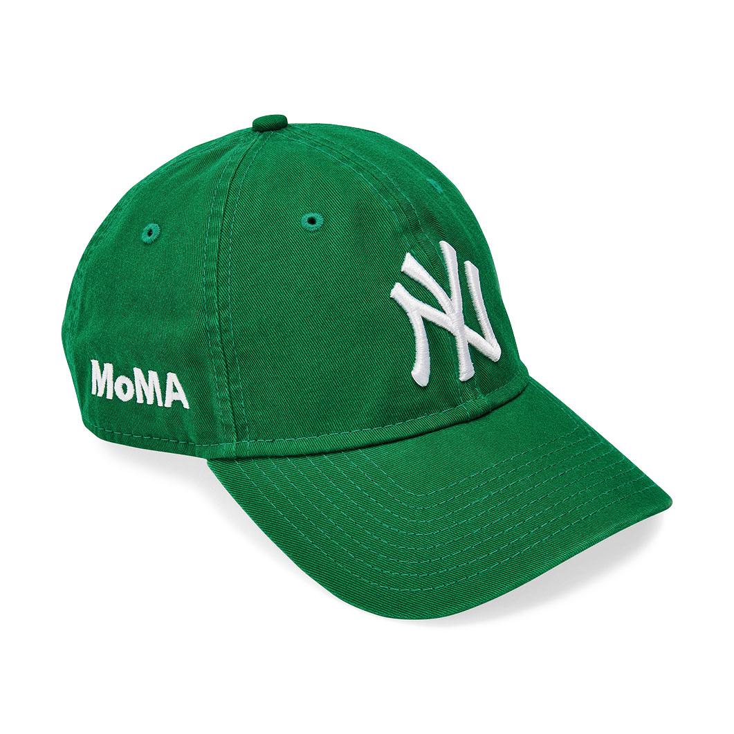 NY ヤンキースキャップ ケリーグリーン MoMA Editionの商品画像