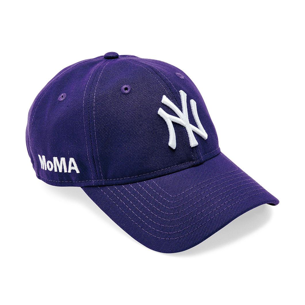 NY ヤンキースキャップ ディープパープル MoMA Editionの商品画像