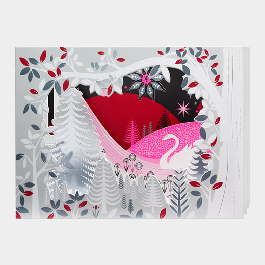 MoMA クリスマスカード 白鳥の湖の商品画像