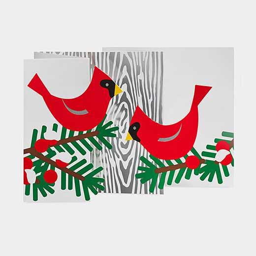 MoMA クリスマスカード ウィンターレットバードの商品画像