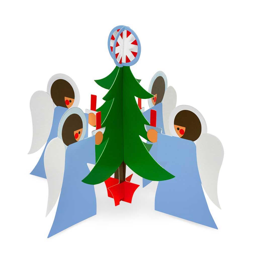MoMA クリスマスカード エンジェルの商品画像