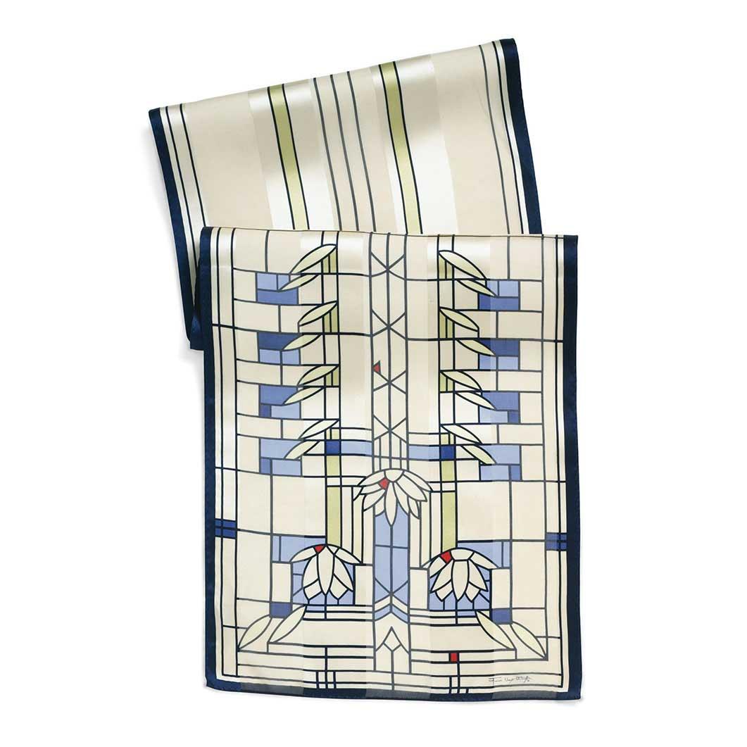 MoMA FLW スイレン スカーフの商品画像