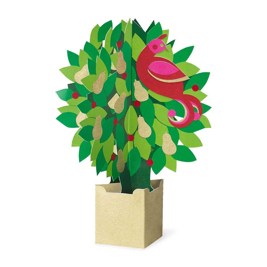 MoMA クリスマスカード パートリッジの商品画像