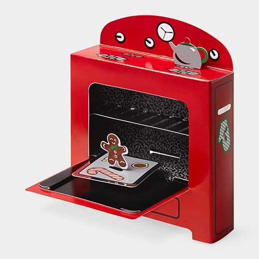 MoMA クリスマスカード ジンジャーブレッドの商品画像