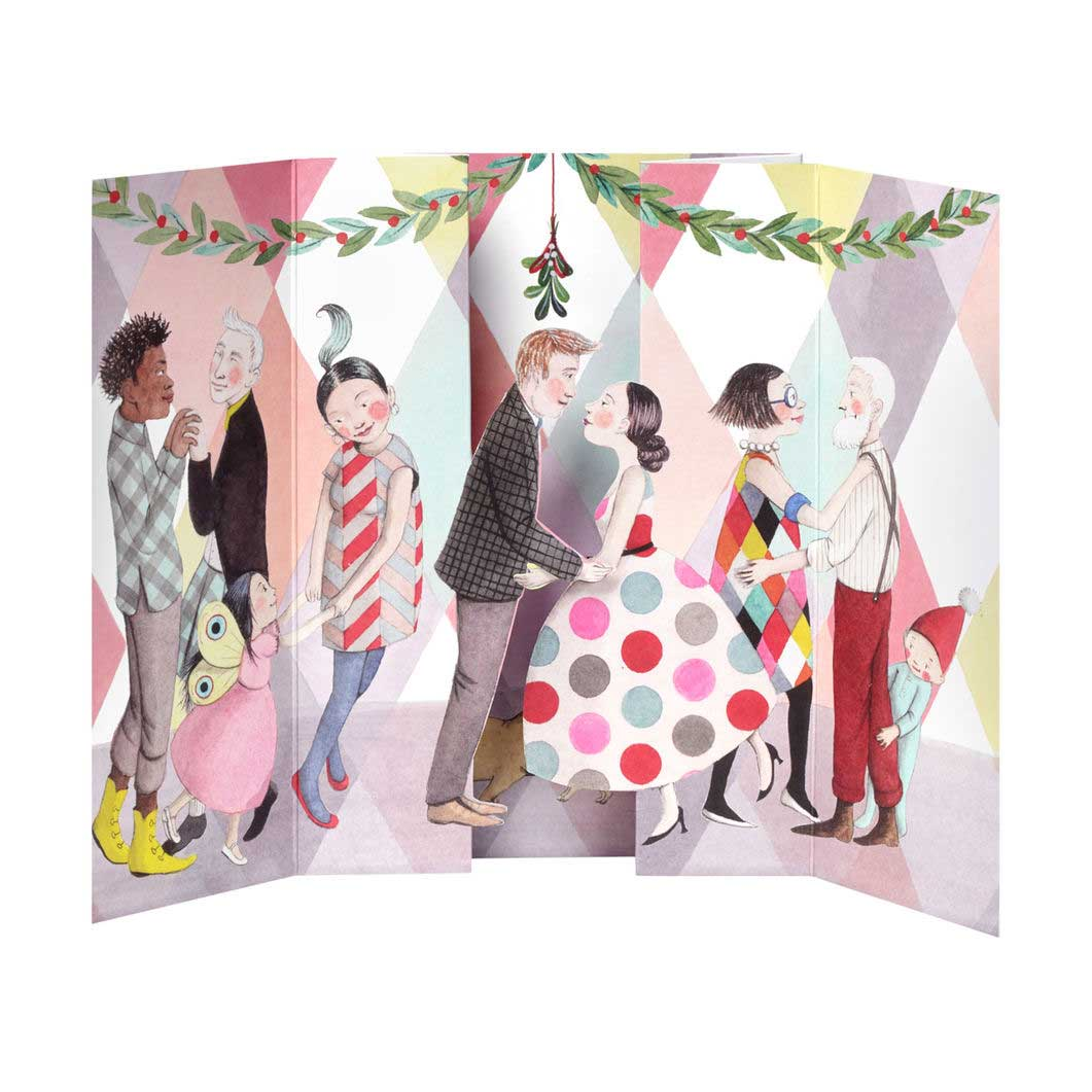 MoMA クリスマスカード ヤドリギの商品画像