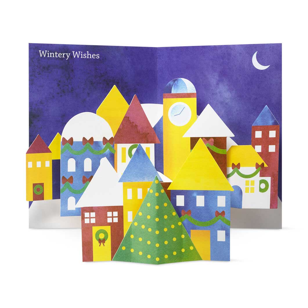 MoMA クリスマスカード ウィンタービレッジの商品画像