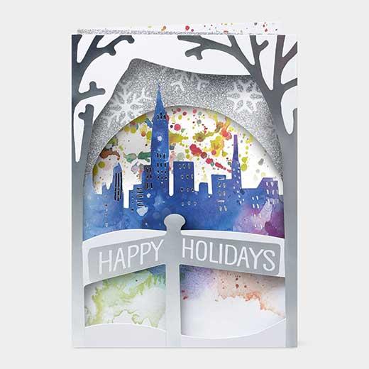 MoMA クリスマスカード ウィンタースカイラインの商品画像