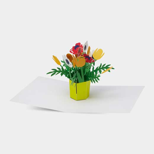 MoMA ポップアップカード ブリリアントブーケの商品画像