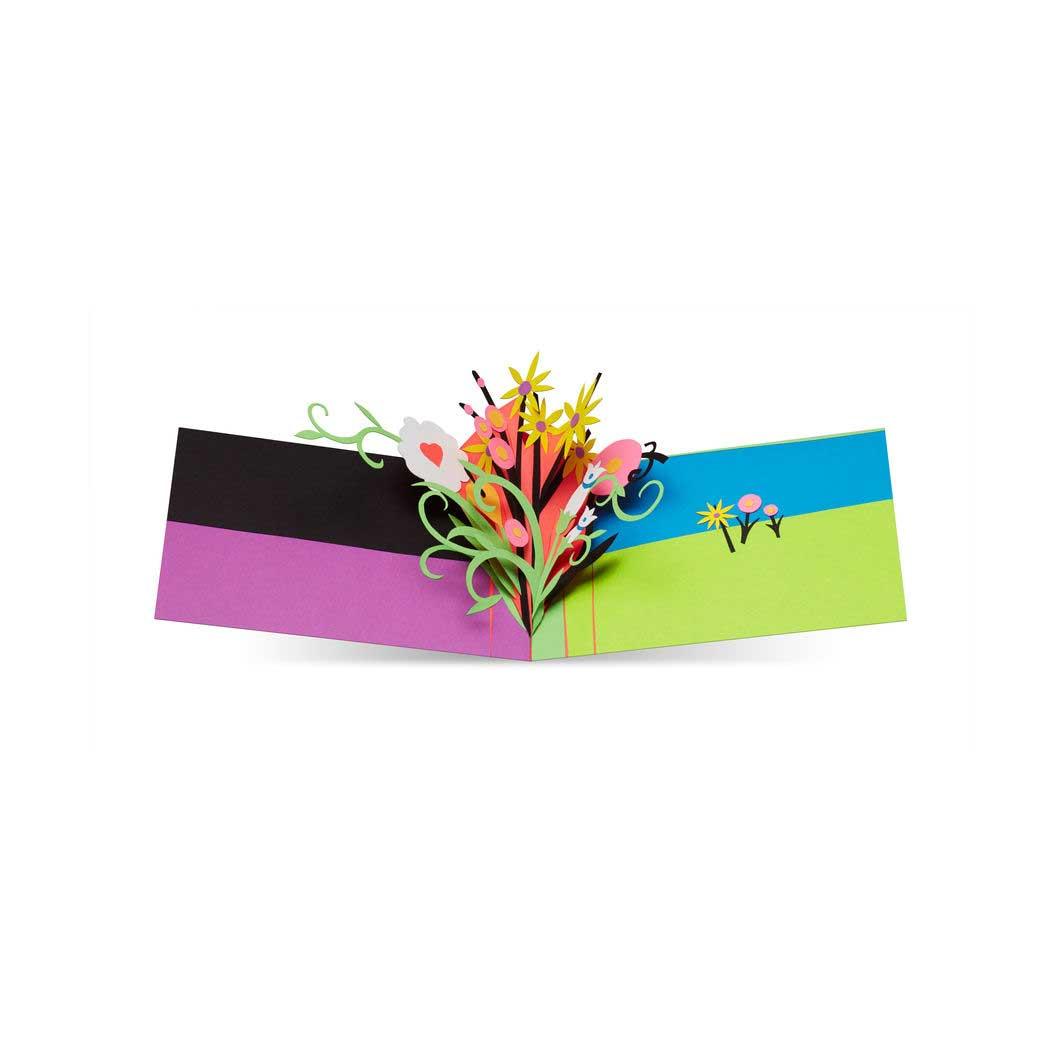 MoMA ポップアップカード プレイフルブロッサムの商品画像