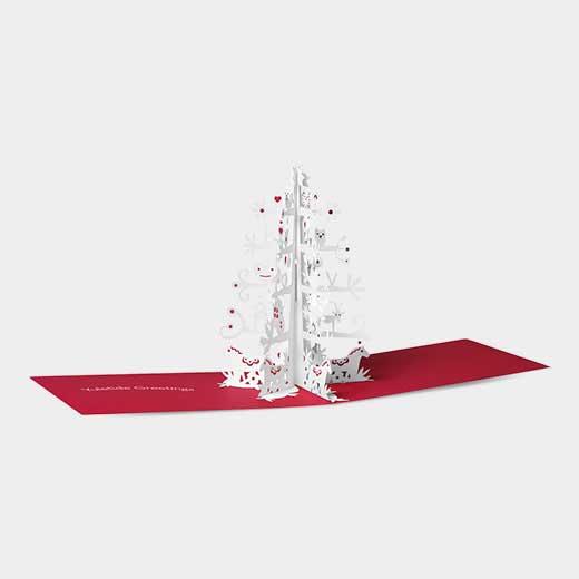 MoMA クリスマスカード スカンジナビアンツリーの商品画像