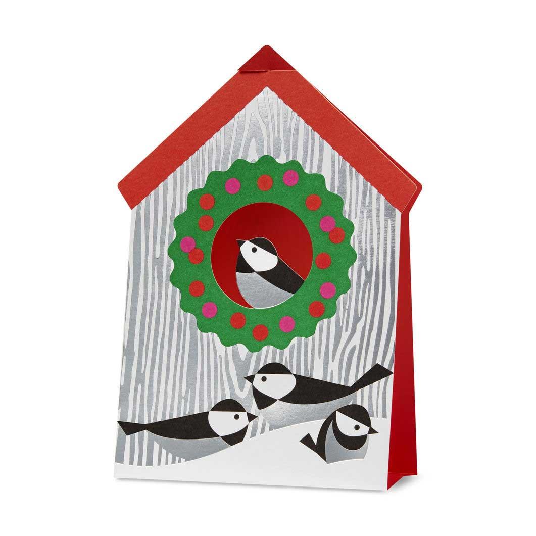 MoMA クリスマスカード バードハウスの商品画像