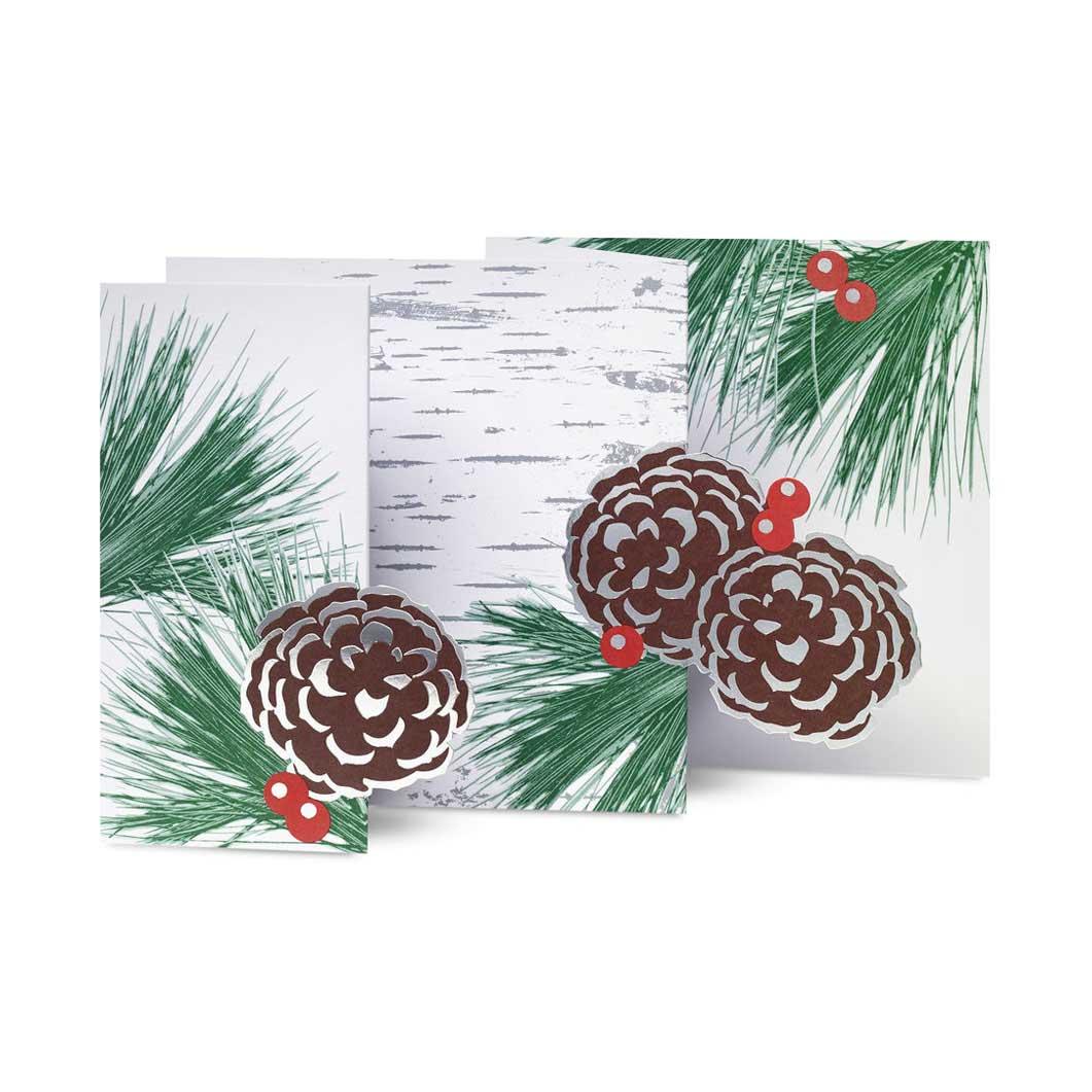 MoMA クリスマスカード 冬の白樺の商品画像