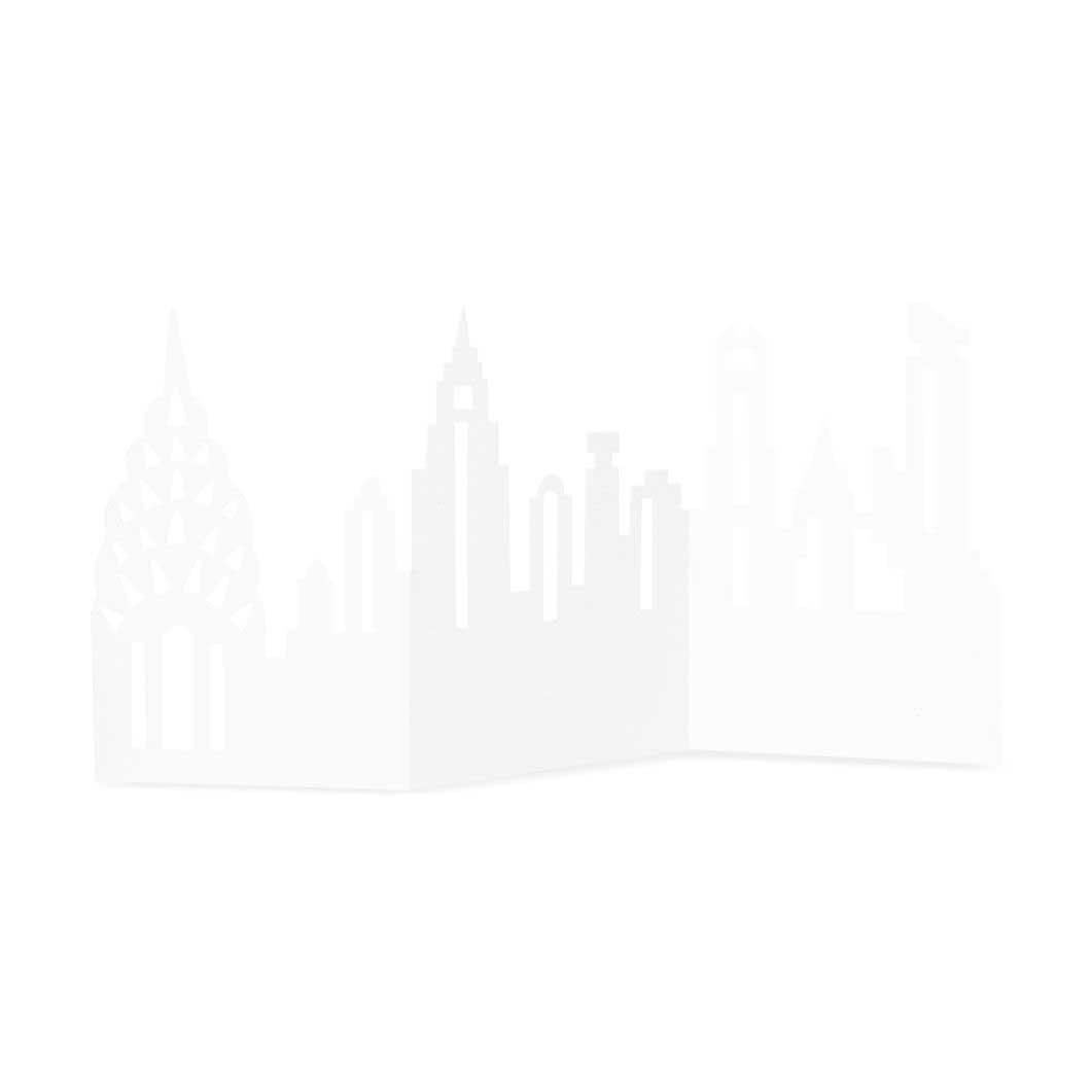 ダイカットカード NYスカイライン MID-MAHANTNの商品画像