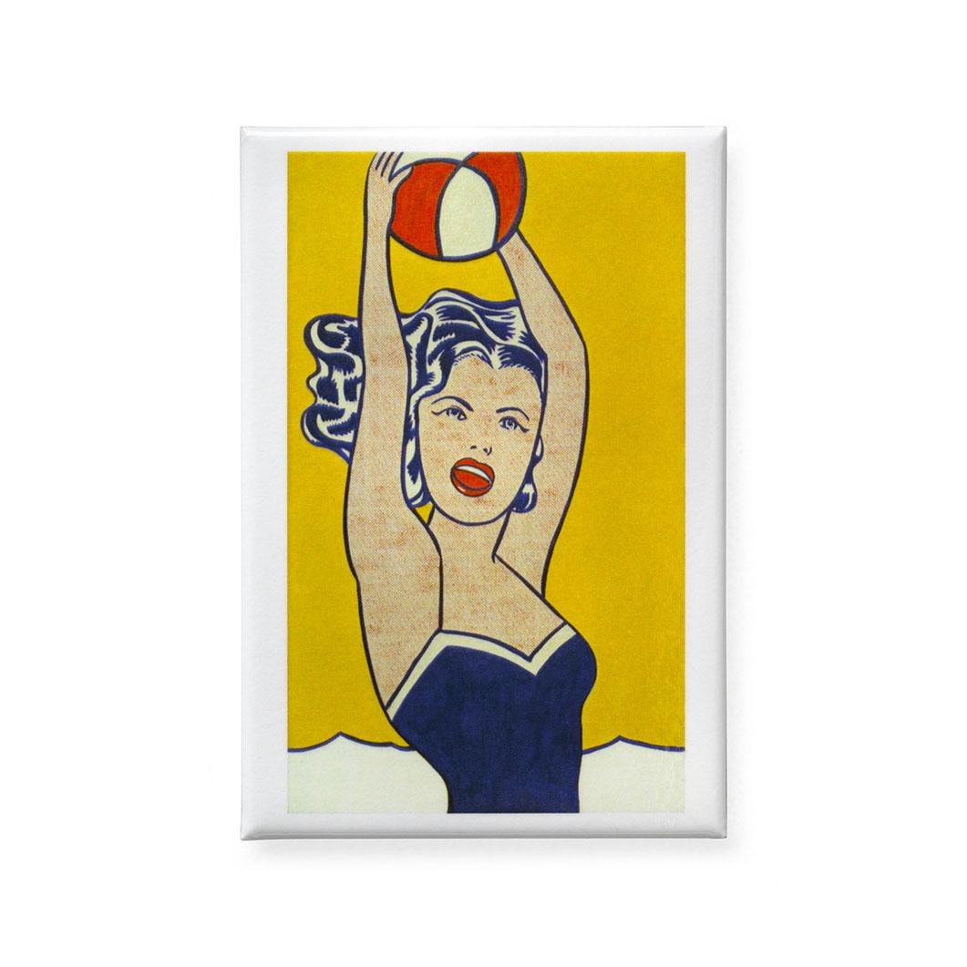 MoMA マグネット Girl With Beach Ballの商品画像