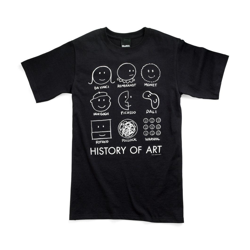 MoMA ヒストリーオブアート Tシャツ ミディアムの商品画像