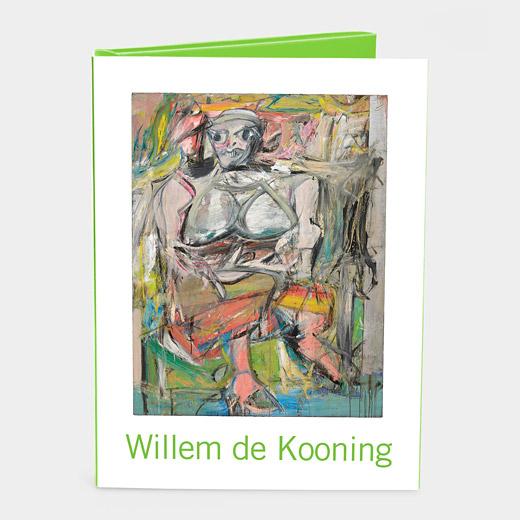 MoMA de Kooning カードボックスの商品画像