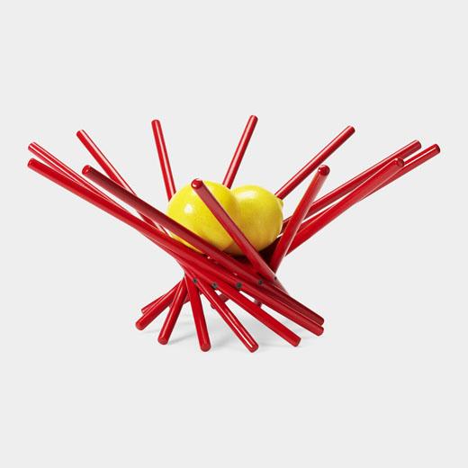 MoMA サテライトボウル レッド スモールの商品画像