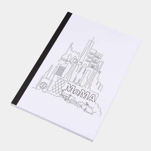 MoMA Skyline 無地ノートブック A5の商品画像
