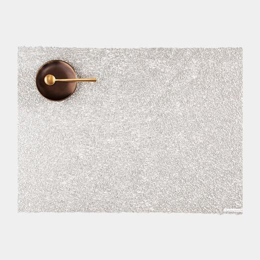 Chilewich スクリブル マット シルバーの商品画像