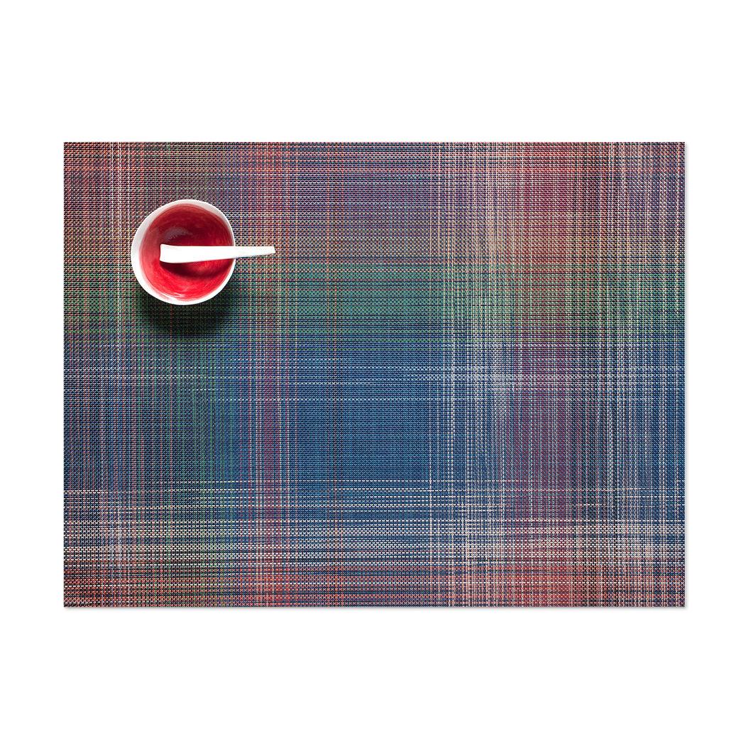 Chilewich プレイド プレースマット マルチカラーの商品画像