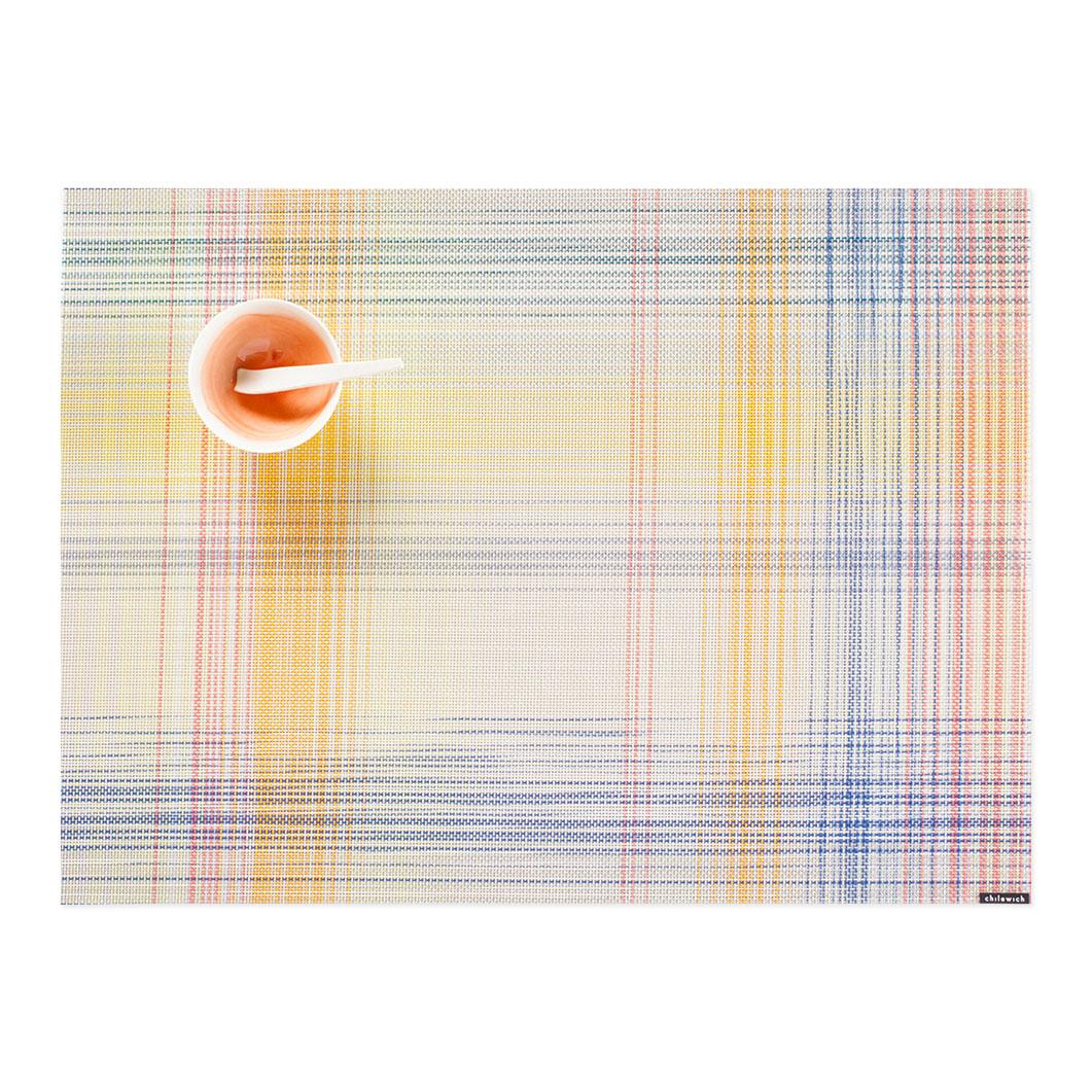 Chilewich プレイド プレースマット ソルベの商品画像
