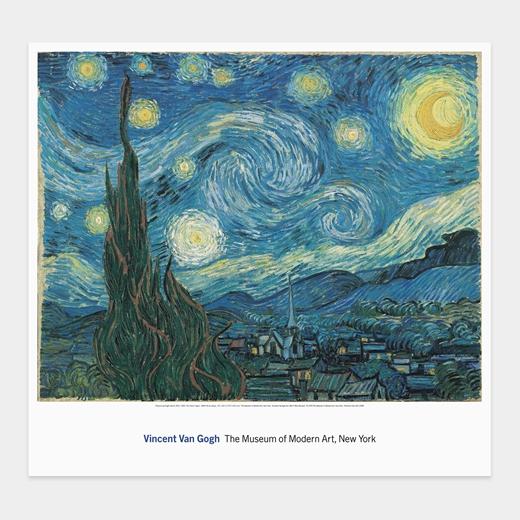 ゴッホ:The Starry Night ポスターの商品画像