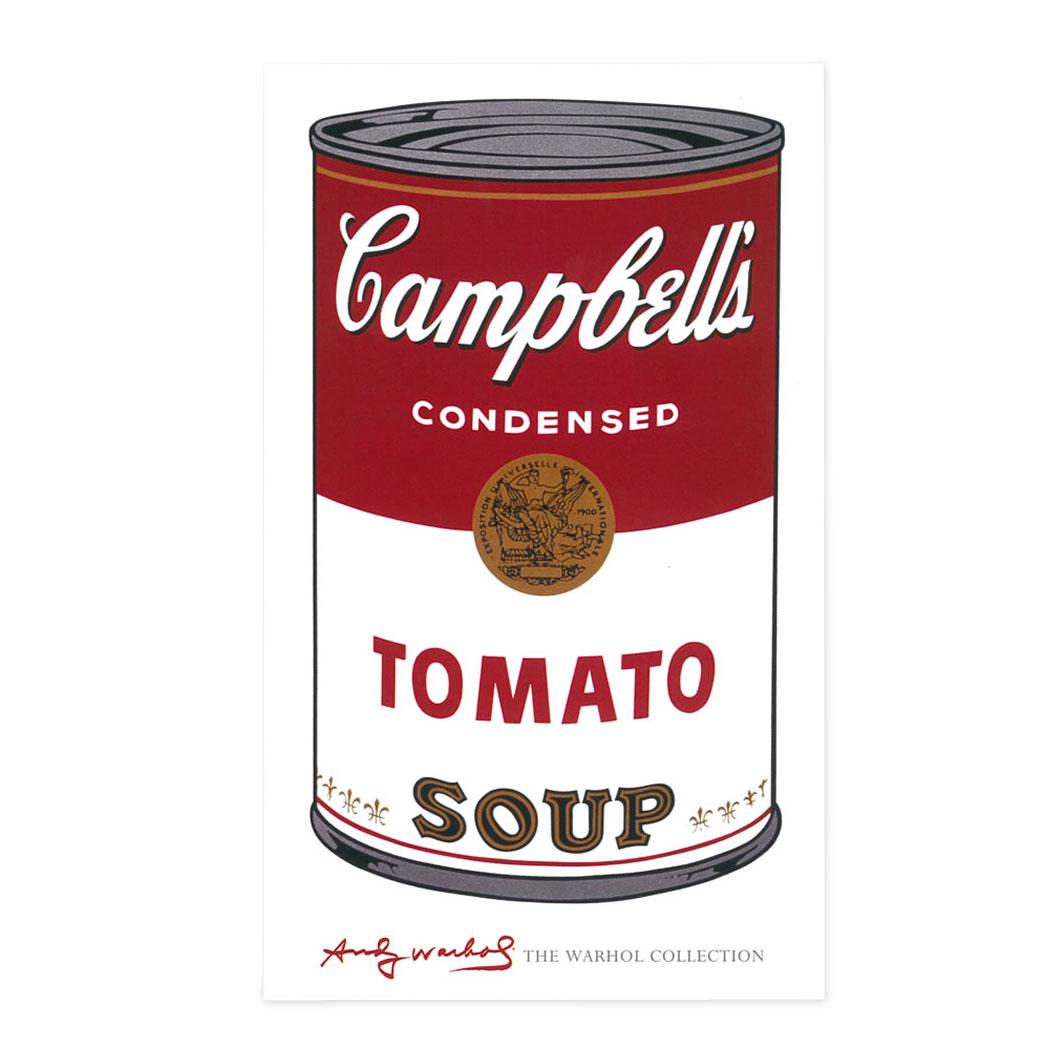 ウォーホル:Campbell's Soup I Tomato ポスターの商品画像