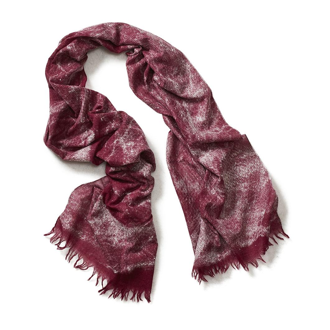 ウール/シルク真綿 ニードル スカーフの商品画像
