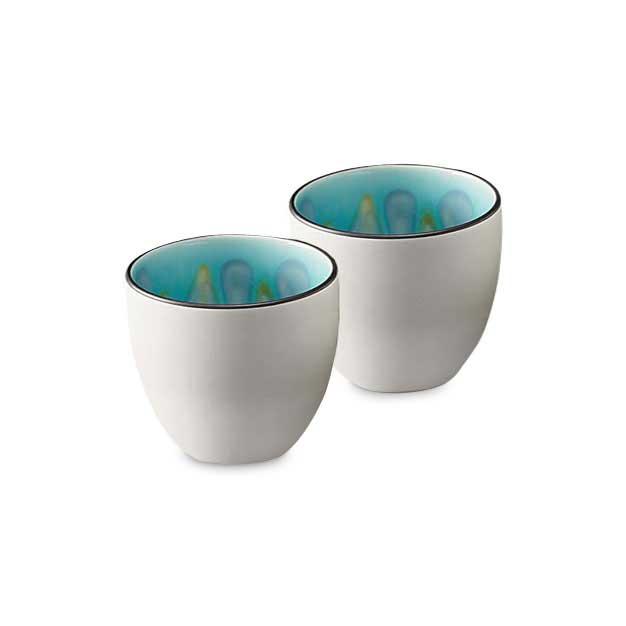 ターコイズティーカップ(2個セット)の商品画像