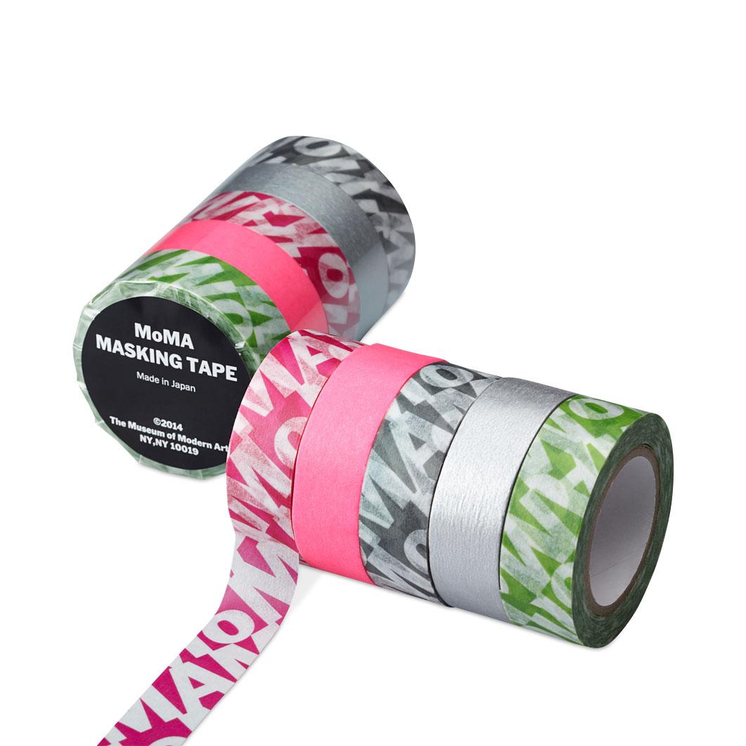 MoMA ロゴ マスキングテープ(5個セット)の商品画像