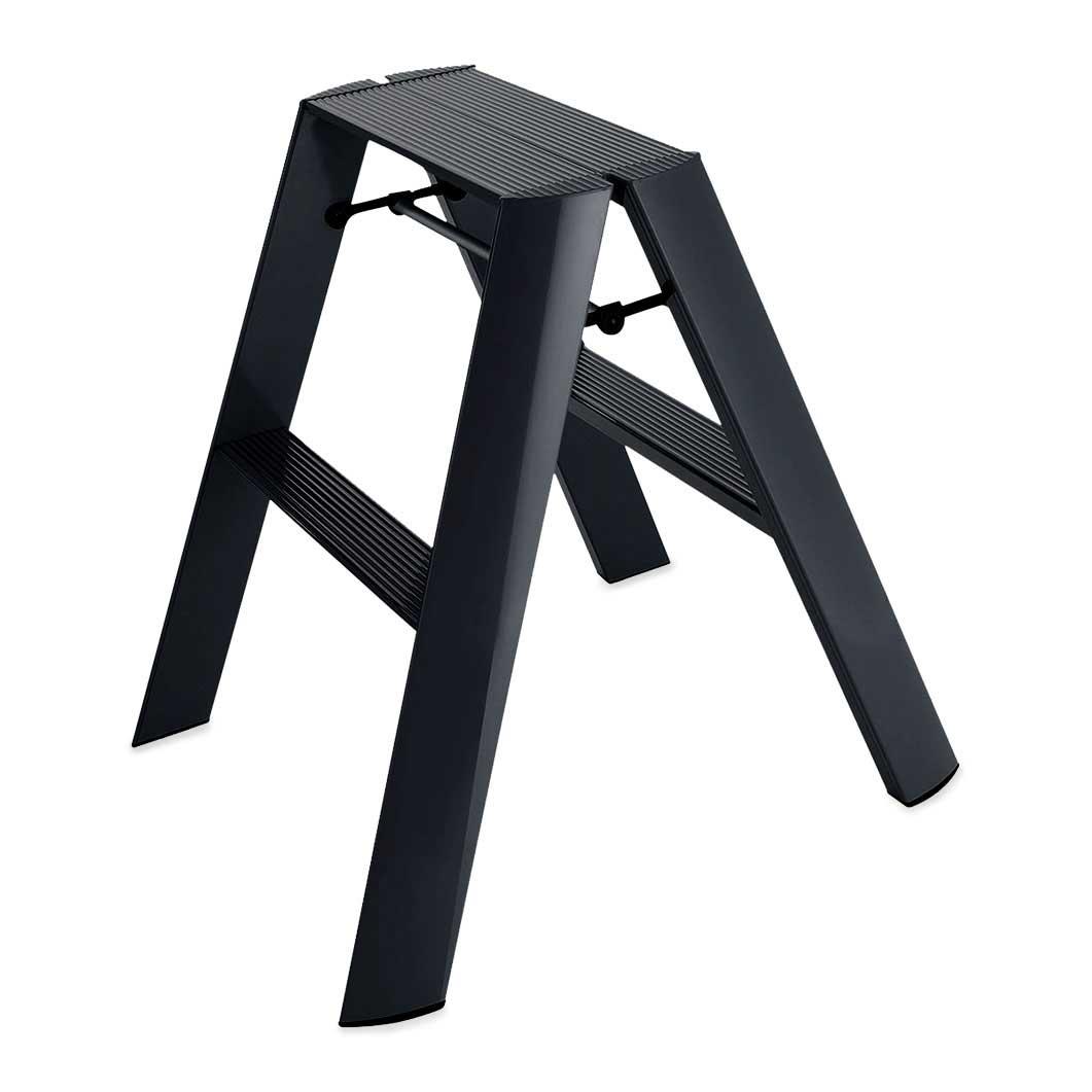 <MoMA> Lucano ステップスツール 2step ブラック