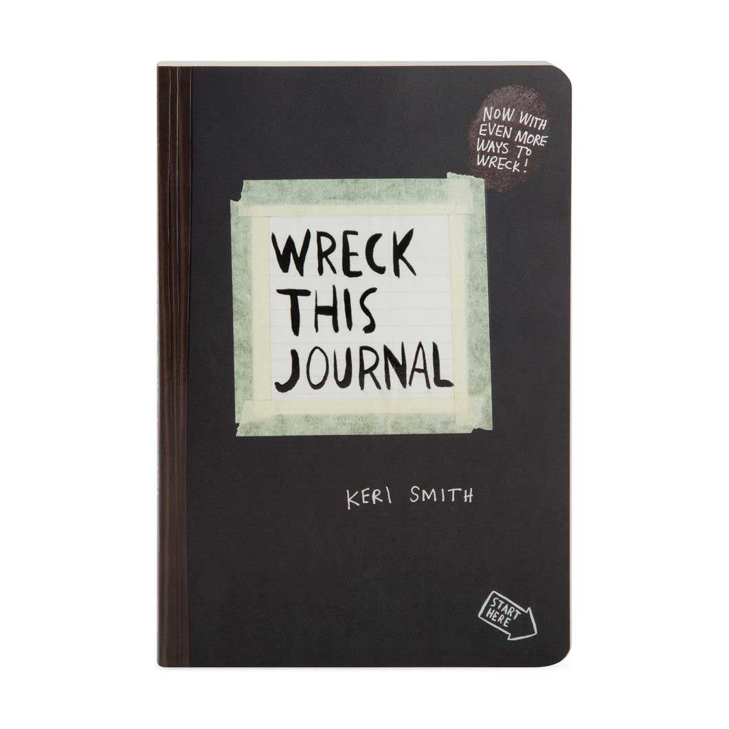 Wreck This Journal ノートブック