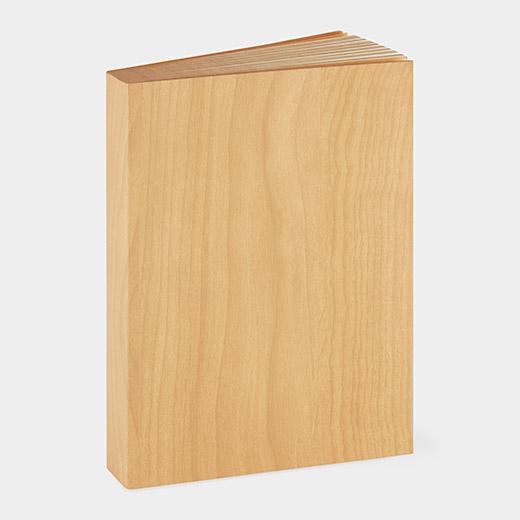 ソリッド ノートブック ウッドの商品画像