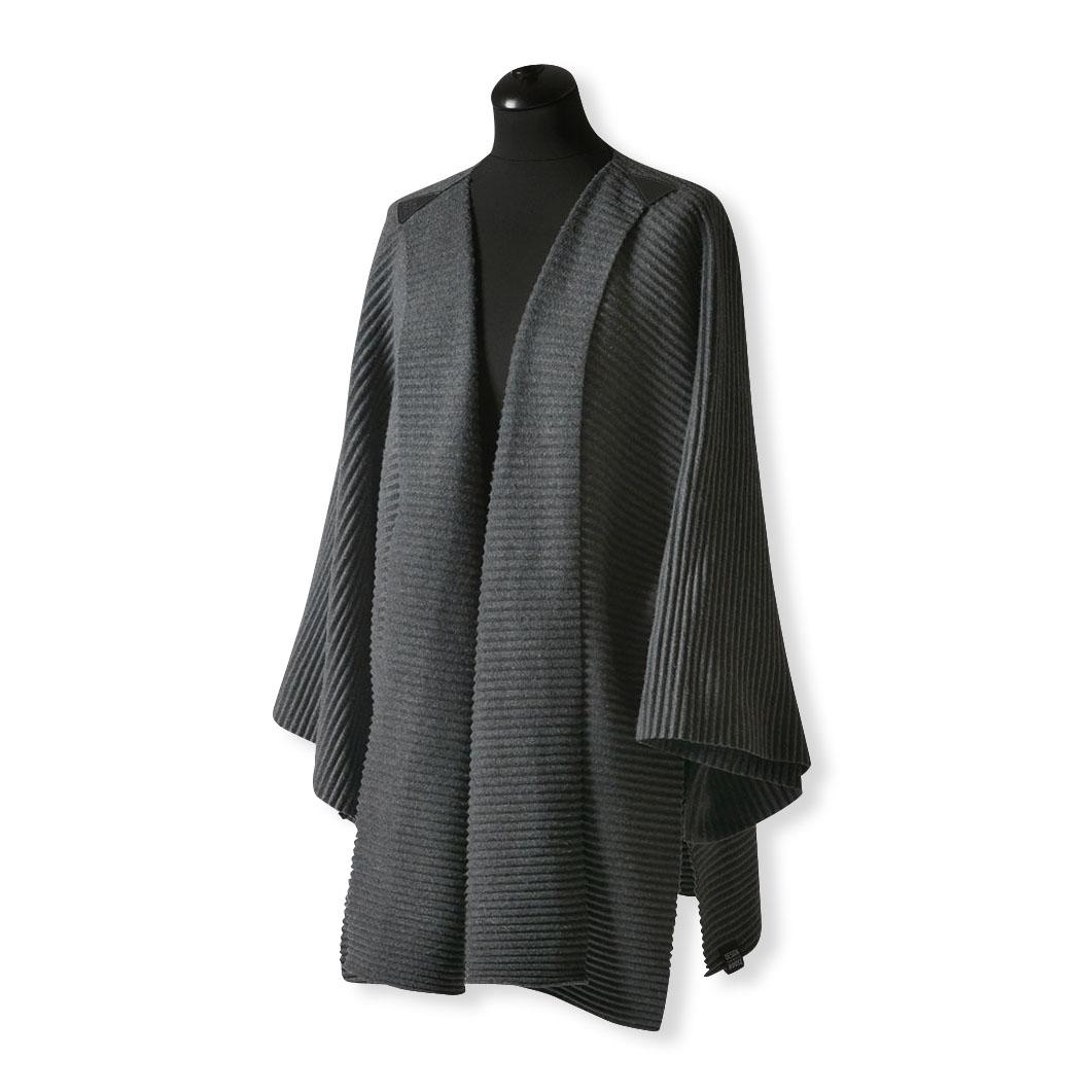 プリースジャケット ダークグレーの商品画像