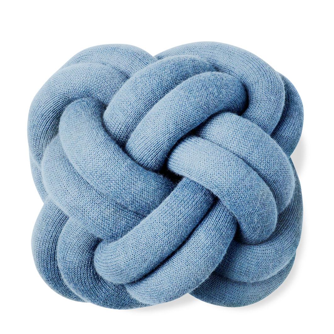 ノット クッション ブルーの商品画像