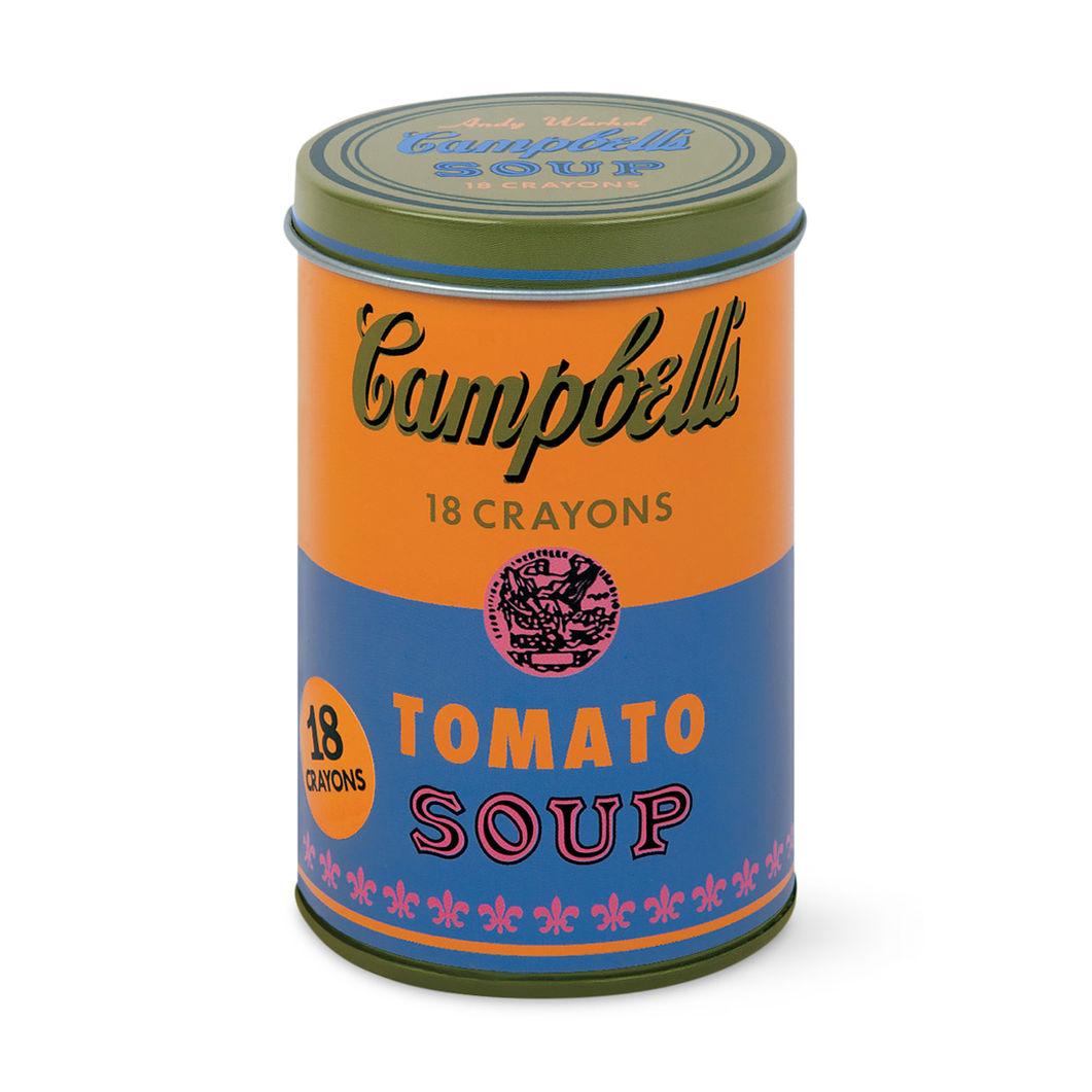 ウォーホル:Campbell's Soup オレンジ クレヨンセットの商品画像