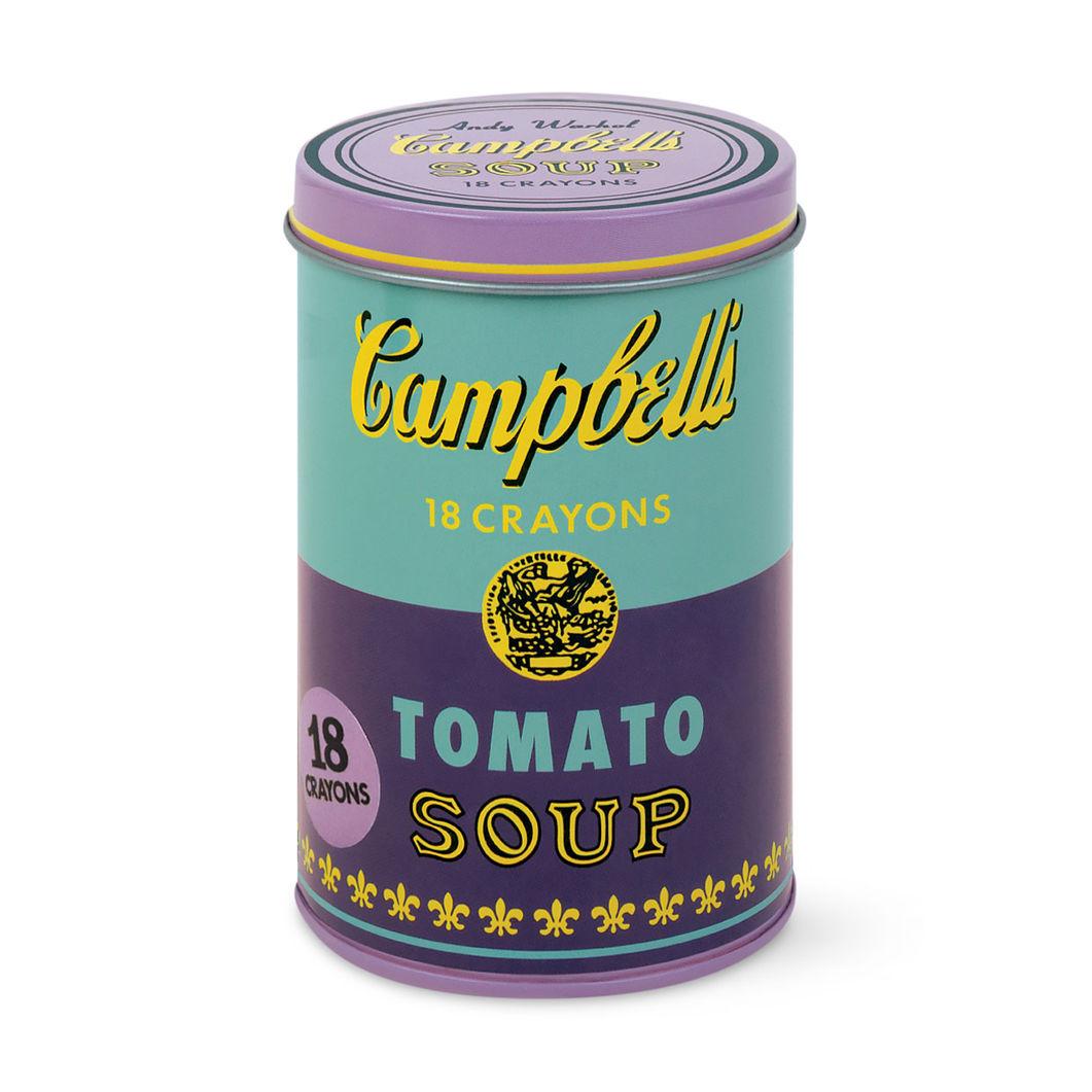 ウォーホル:Campbell's Soup パープル クレヨンセットの商品画像