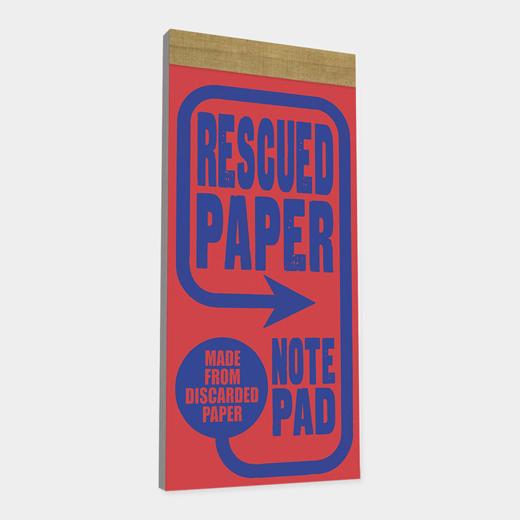 レスキュードペーパー ノートパッドの商品画像