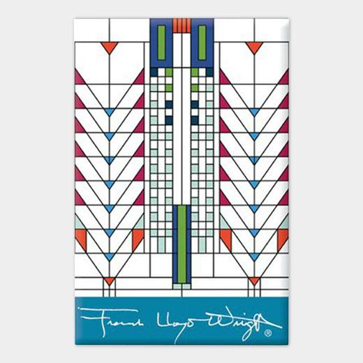 フランク・ロイド・ライト:ツリーオブライフ マグネットの商品画像