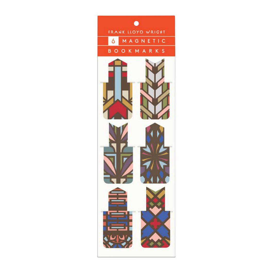 フランク・ロイド・ライト:マグネット ブックマークの商品画像